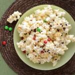 Gooey Marshmallow Christmas Popcorn : 100 Days of Homemade Holiday Inspiration