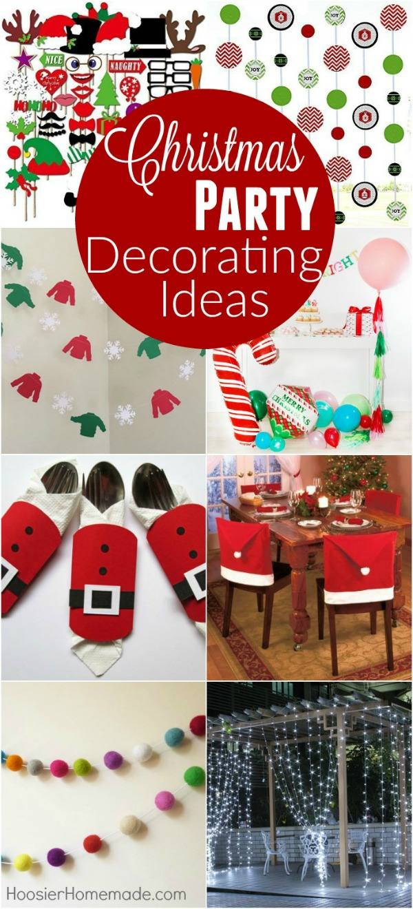 throwing a christmas party these christmas party decorating ideas are sure to bring a smile