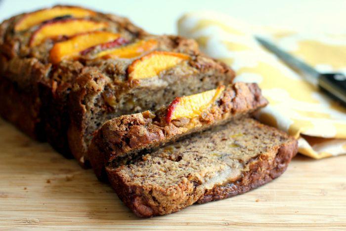 Cinnamon Peach Bread