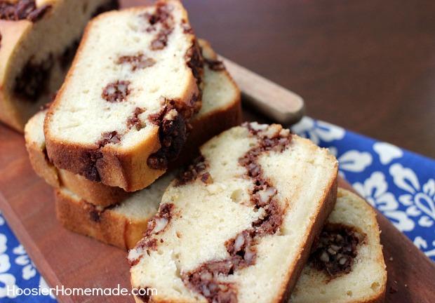 Cinnamon Pecan Quick Bread