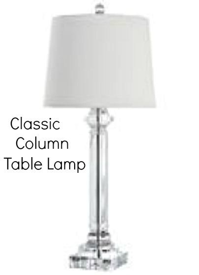 Classic Column Table Lamp