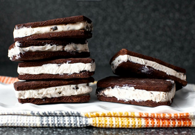 Homemade Classic Ice Cream Sandwiches