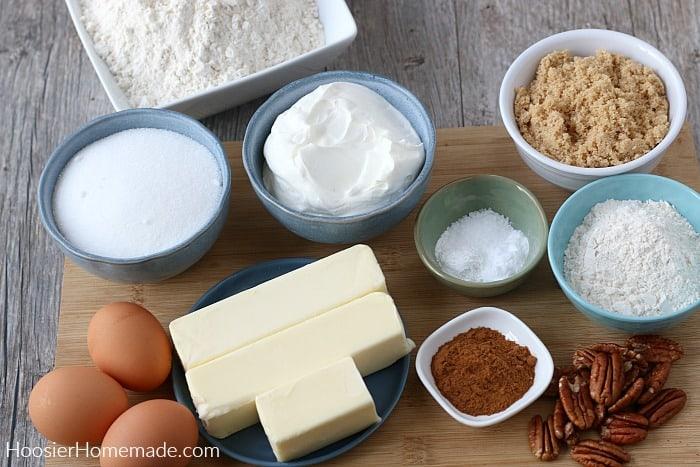 Coffee Cake Recipe Ingredients