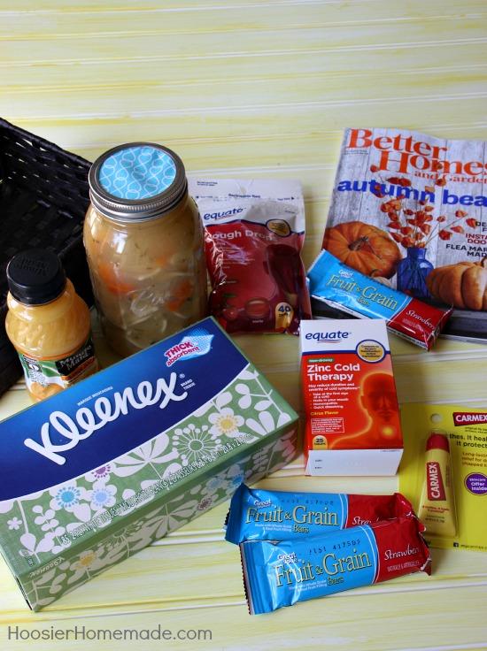 Get Well Gift Basket | Details on HoosierHomemade.com