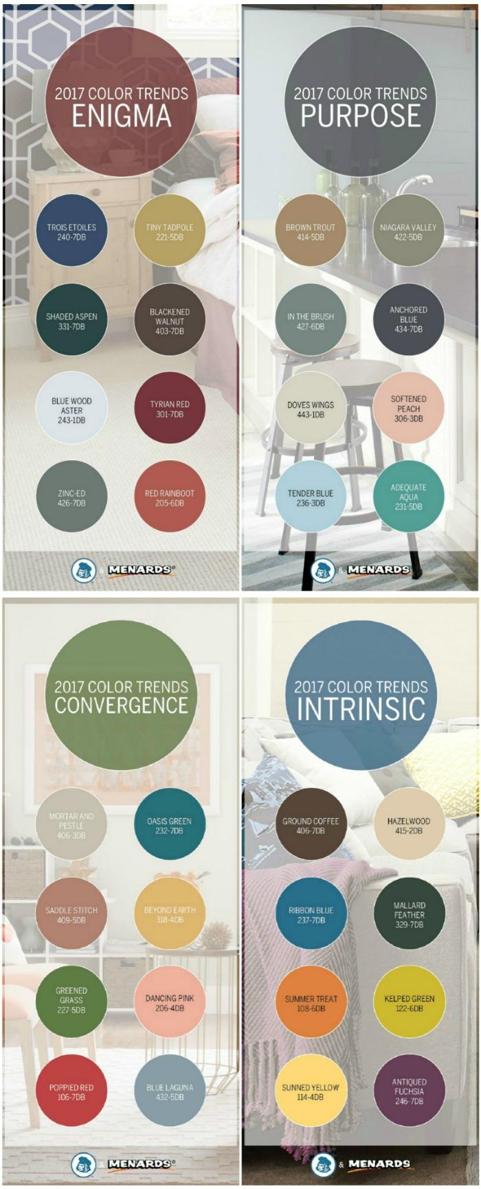 Color Trends for Dutch Boy Paint
