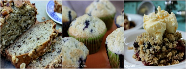 Bread, Muffins and Cobbler Recipes
