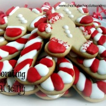 Cookie Decorating with Royal Icing : 100 Days of Homemade Holiday Inspiration on HoosierHomemade.com