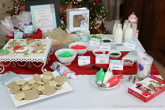 cookie decorating party - Christmas Cookie Decorating Party