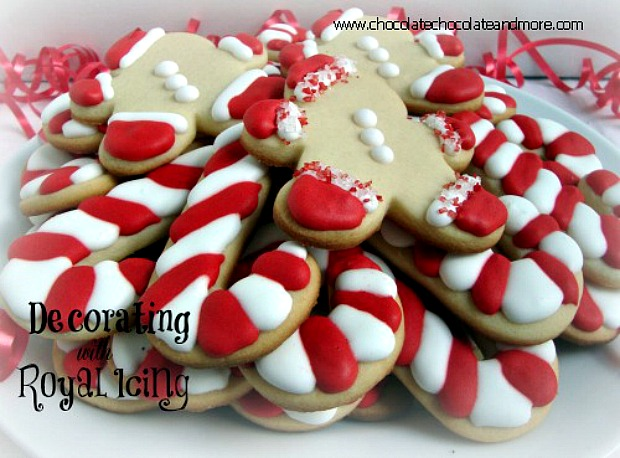 cookie decorating with royal icing 100 days of homemade holiday inspiration on hoosierhomemadecom - Christmas Cookie Decorating Supplies