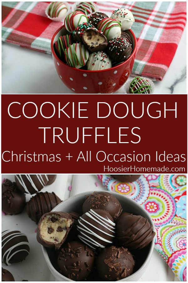 Cookie Dough Truffles Recipe