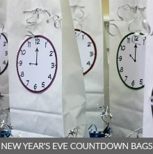 Countdown Bags for New Year's Eve