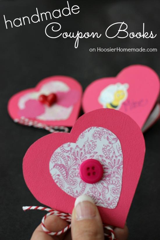 Handmade Coupon Books | Instructions on HoosierHomemade.com