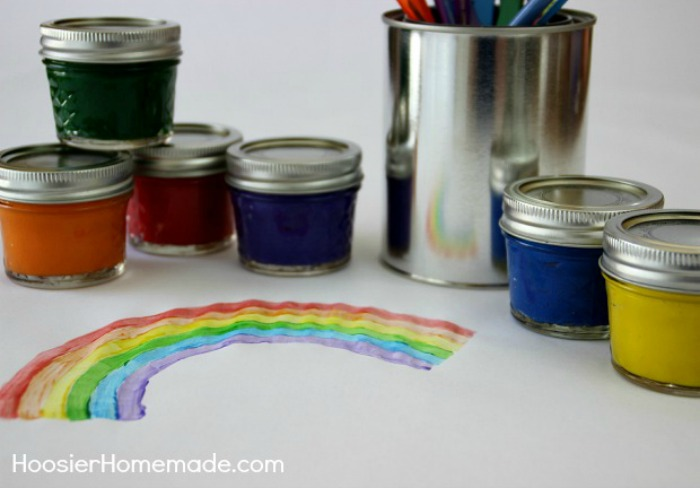 Homemade Craft Paint for Kids