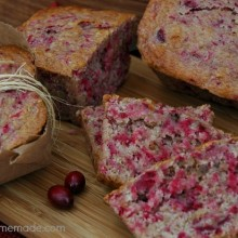 Cranberry Bread.close