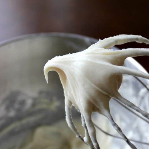 Cream Cheese Frosting Recipe with only 3 ingredients.