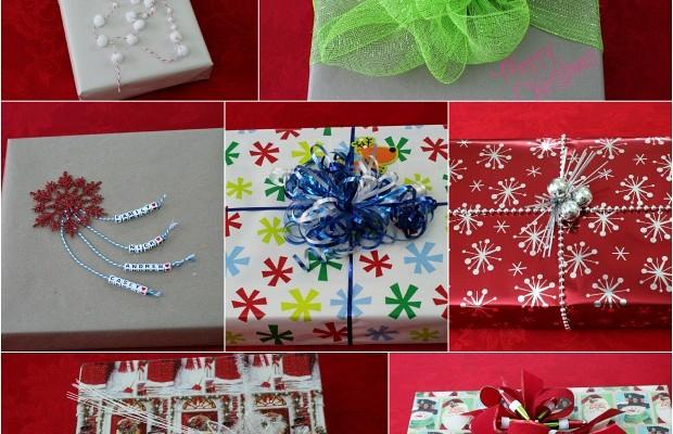 Creative Gift Wrapping   from HoosierHomemade.com