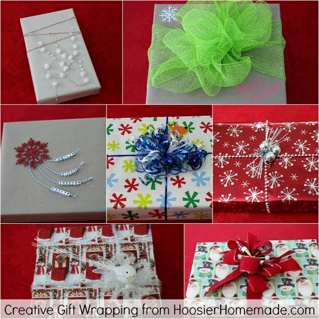 Creative Gift Wrapping | from HoosierHomemade.com