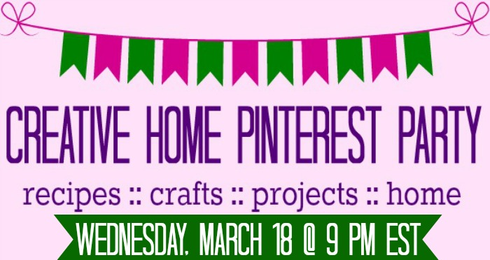 Creative Home Pinterest Party