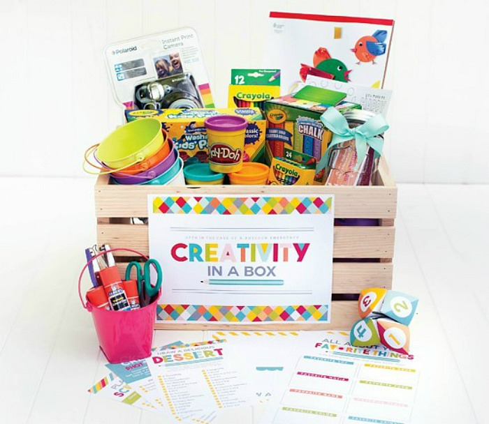Arts and Crafts Easter Basket