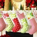 Cuffed Christmas Stockings: 100 Days of Homemade Holiday Inspiration on HoosierHomemade.com