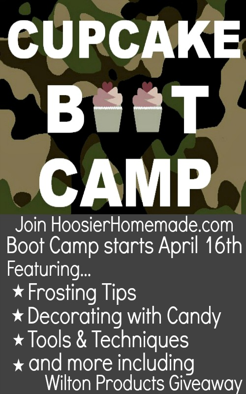 Cupcake Boot Camp on HoosierHomemade.com