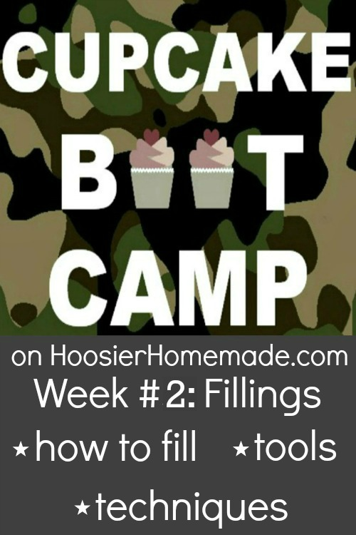 Cupcake Boot Camp: How to add fillings to cupcakes :: HoosierHomemade.com