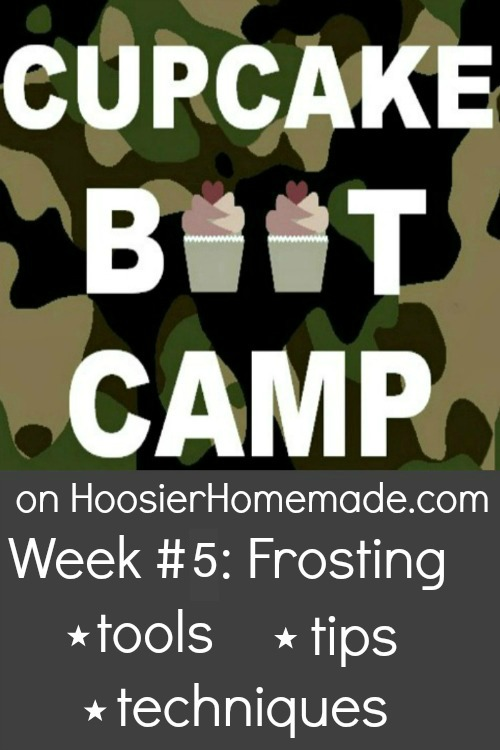 Cupcake Boot Camp: How to Frost Cupcakes :: Video from HoosierHomemade.com