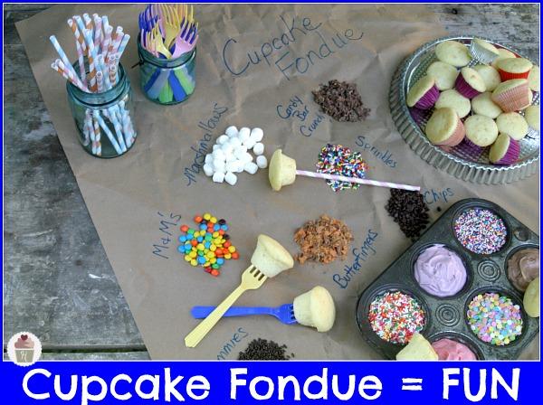 Cupcake Fondue :: HoosierHomemade.com