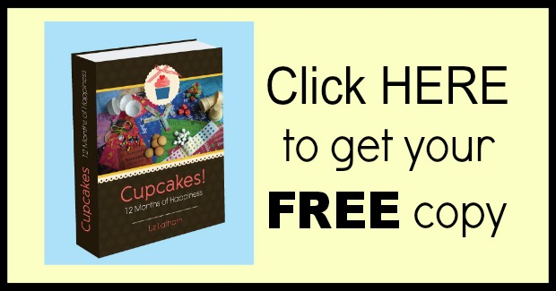 Cupcakes! 12 Months of Happiness FREE :: Details on HoosierHomemade.,com