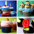 Cupcake winner collage