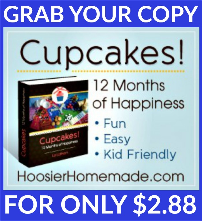 Cupcakes! 12 Months of Happiness eBook Sale - Hoosier Homemade