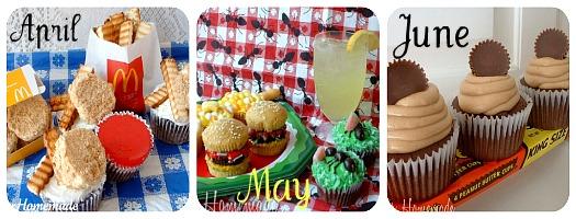 Cupcakes April - June