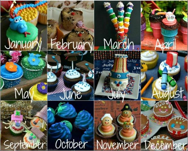 Cupcakes on HoosierHomemade.com