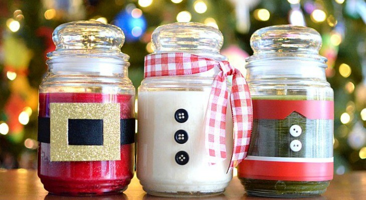 Diy Christmas Candles Holiday Inspiration Hoosier Homemade
