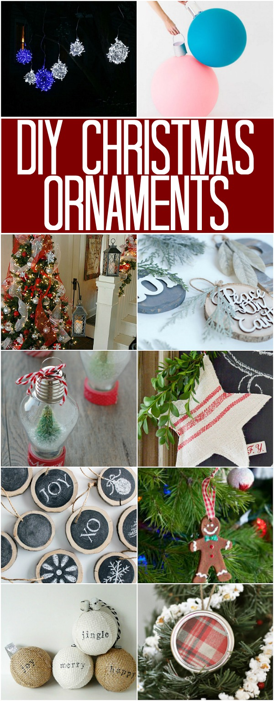 Diy Christmas Ornaments 100 Days Of Homemade Holiday Inspiration