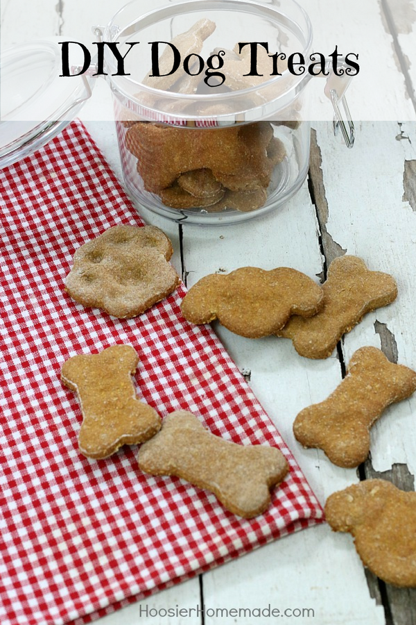 Homemade DIY Dog Treats