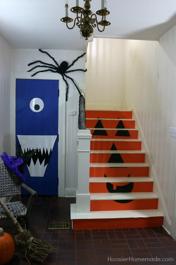 diy halloween doors hoosier homemade