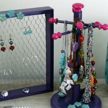 DIY Jewelry Organizer-feature
