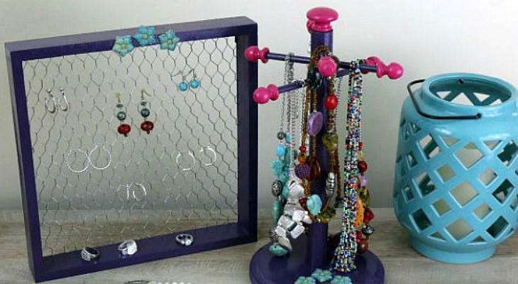 DIY Jewelry Organizer-feature