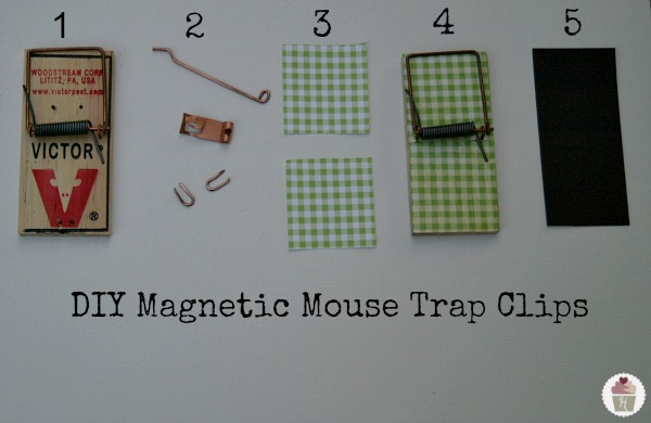 how to build a homemade mouse trap