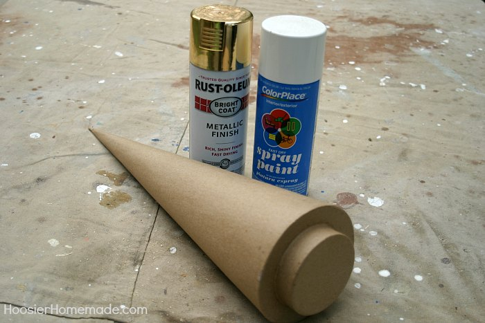 DIY OLYMPIC TORCH - Celebrate the Olympic Games with this fun Olympic Torch! The kids can help make it too! Use it for your Backyard Olympic Games!