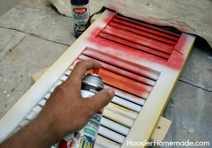 Make your own Patriotic Shutter