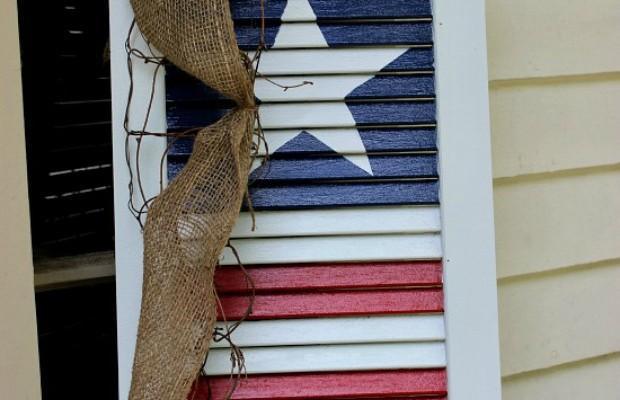 DIY Patriotic Shutter.V.S