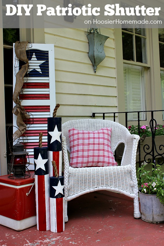 Upcycled Ideas For Diy Window Shutters - Hoosier Homemade