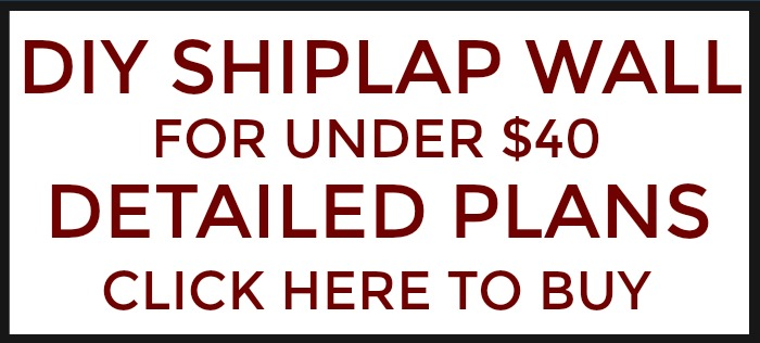 Purchase the step-by-step shiplap wall instructions here.