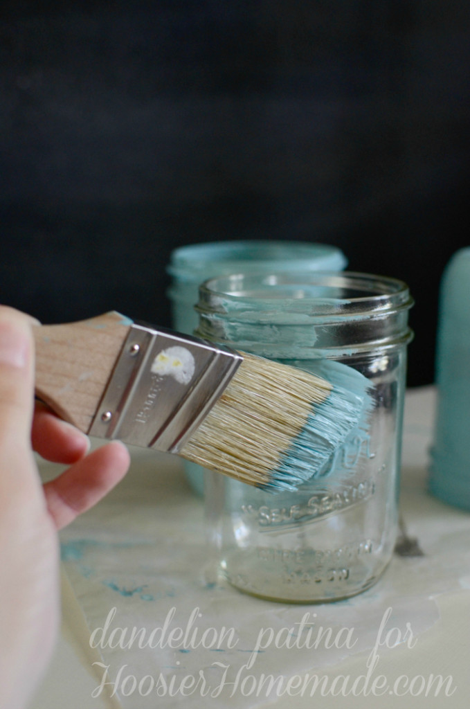 How To Paint With Homemade Chalk Paint