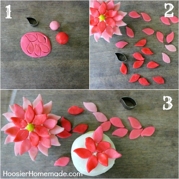 Spring Flower Cupcakes | Instructions on HoosierHomemade.com