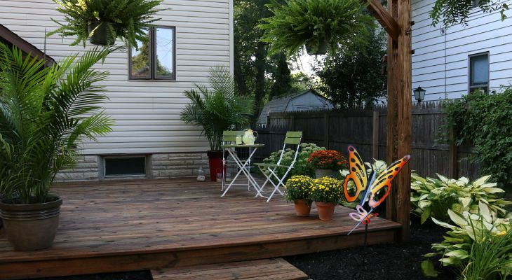How to Clean, Prepare and Stain your Deck - Hoosier Homemade