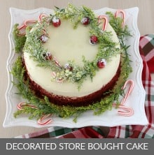 Decorate Store Bought Cake