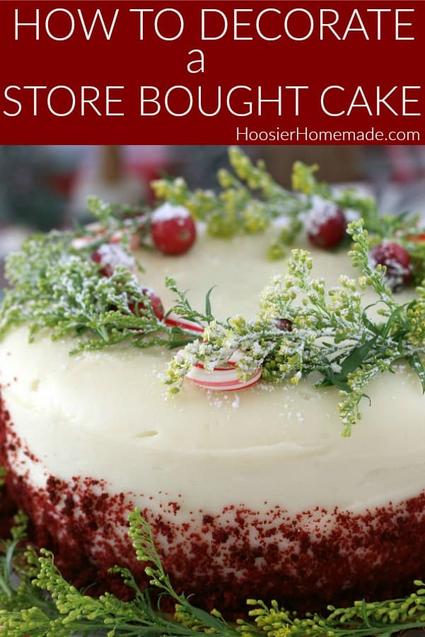 How to Decorate a Store Bought Cake
